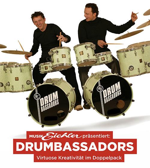 Drumbassadors live in Kassel