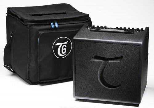 Der Tanglewood T 6 kommt inclusive Tasche!
