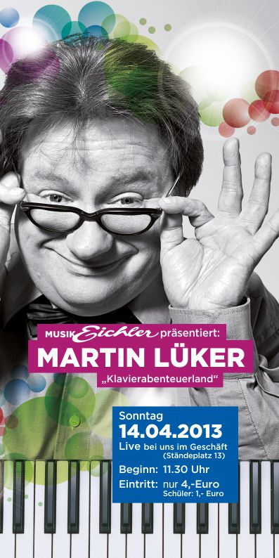 Flyer Martin Lüker